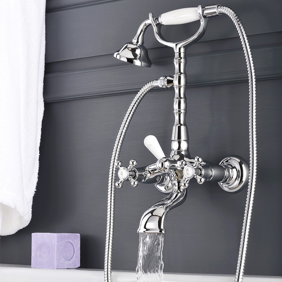 Gruppo vasca con set doccia Paffoni Belinda art. FBLV023CR