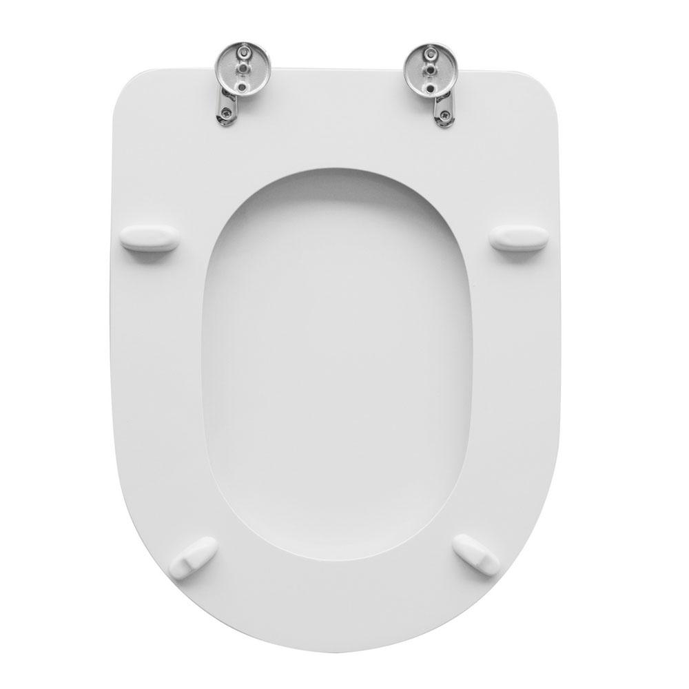Sedile wc per Globo vaso Flavia larghezza 34 cm cerniere ...