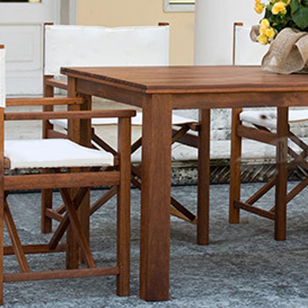 Coppia di sedie regista pieghevoli con struttura in legno ...