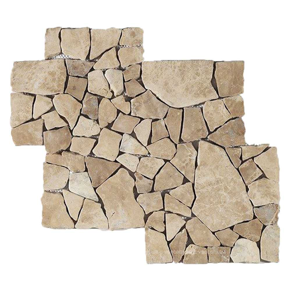 Mosaico parete modello Catedral Capucino confezione da 30 fogli di cm 30x35 IMSO