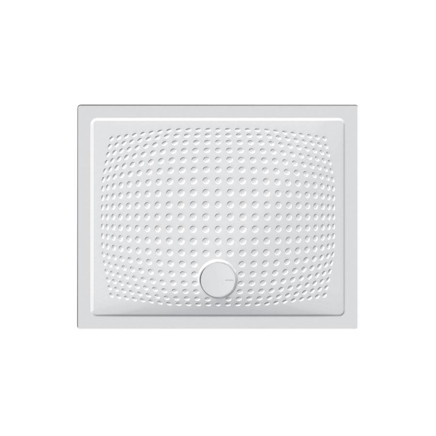 Piatto doccia in ceramica 80x100 con antiscivolo Ceramica Azzurra Relax