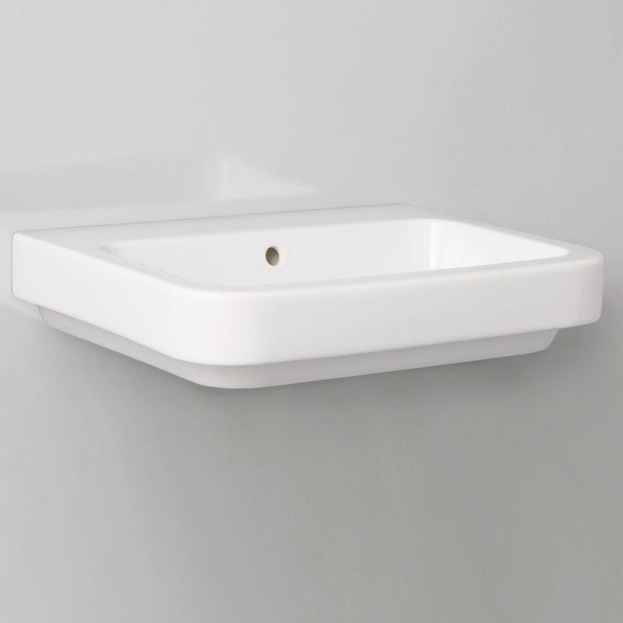 Lavabo da bagno sospeso/appoggio 90x45 Azzurra Tulip