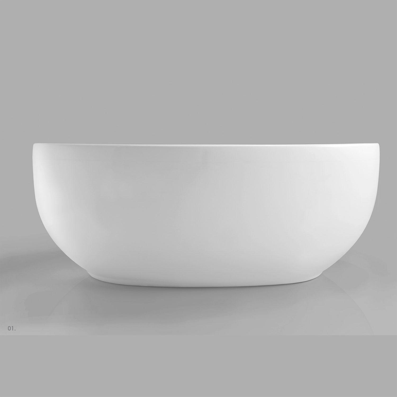 Vasca Freestanding in vetroresina 180X95 Ceramica Azzurra Clas+