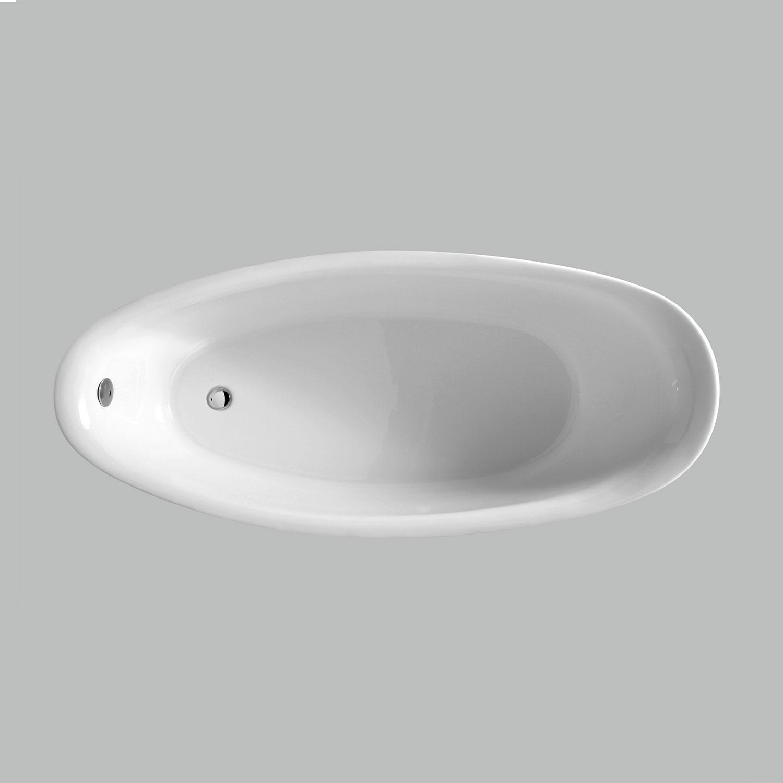 Vasca Freestanding in vetroresina 180X84 Ceramica Azzurra Clas+