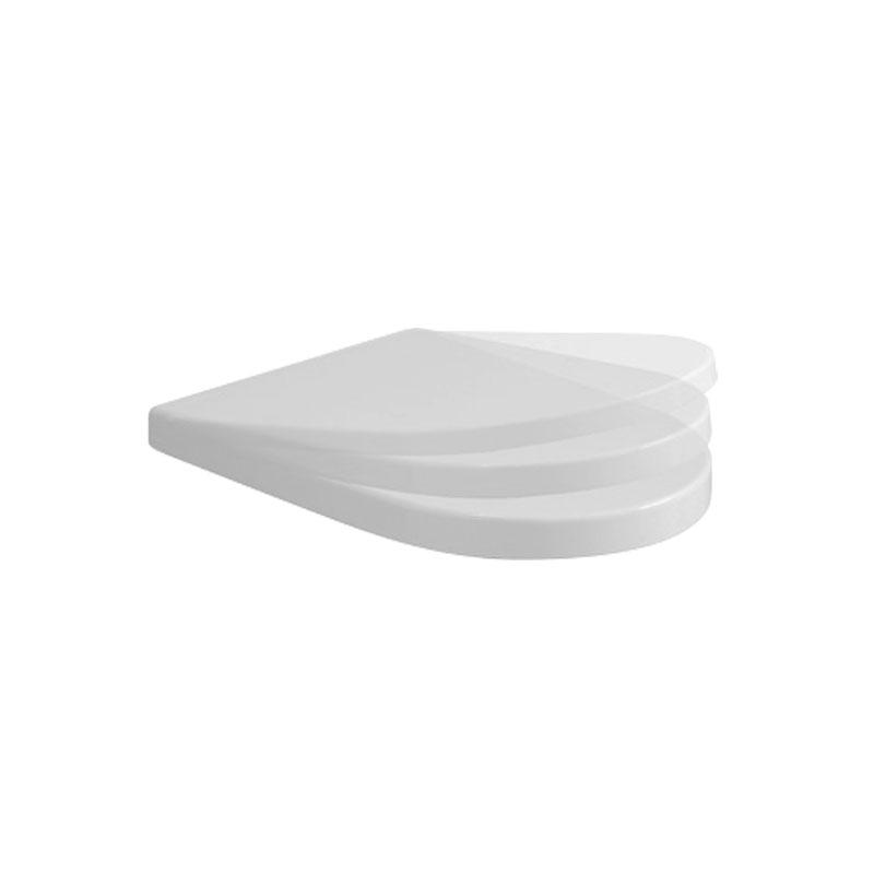 Coprivaso in termoindurente Ceramica Azzurra Nuvola soft close