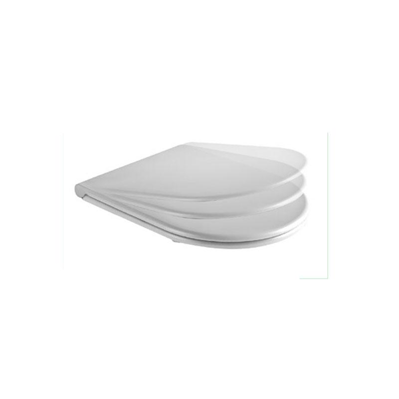 Coprivaso in termoindurente Ceramica Azzurra Comoda chiusura soft close