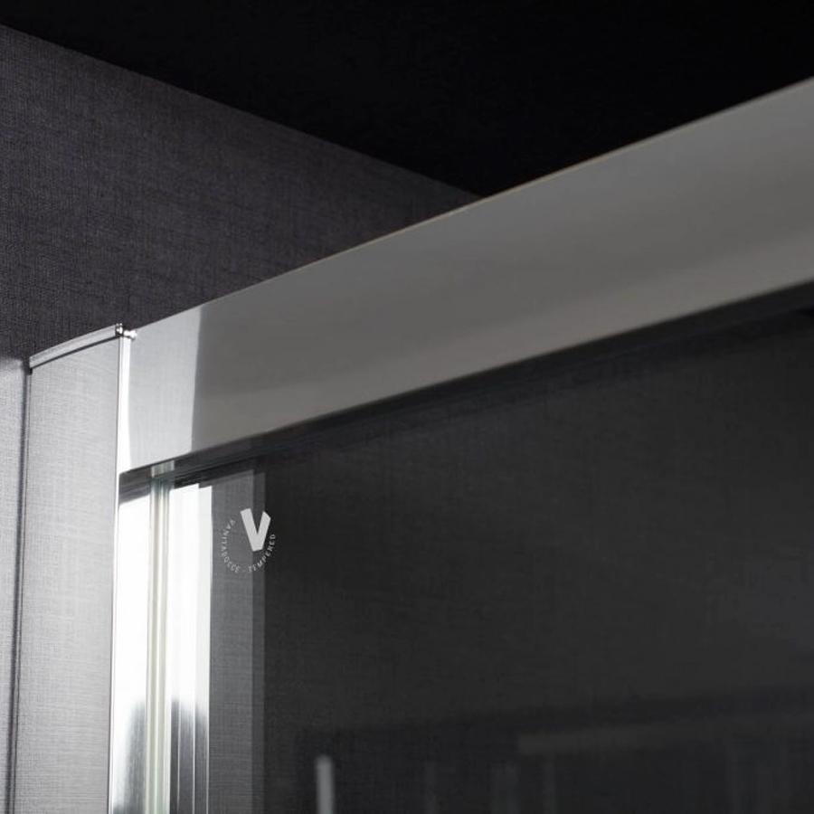 Box Doccia  120x80 angolare scorrevole in cristallo trasparente 6 mm Hera