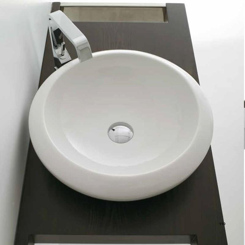Lavabo da appoggio Congas  cm 48 Domus Falerii cm  Design Moderno