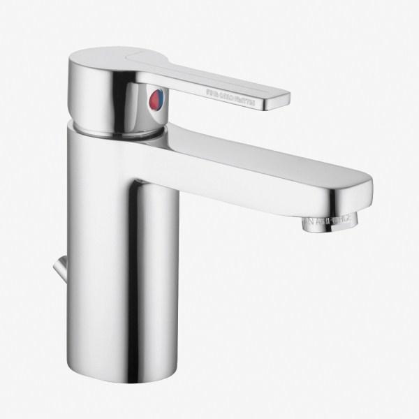 Miscelatore rubinetto lavabo FIMA Carlo Frattini SERIE Matrix con piletta