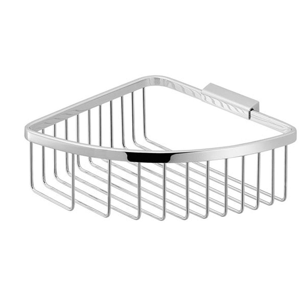 Porta oggetti angolare in filo acciaio Inox mod. Trinidad - GEDY
