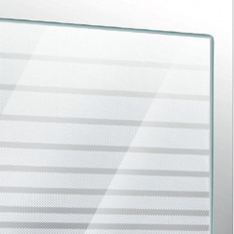 Box doccia angolare in cristallo serigrafato da 6 mm  90x120 profilo cromo brillante