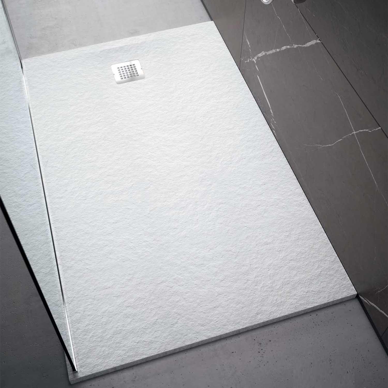 Piatto doccia rettangolare Effetto Pietra 70x120 Ideal Standard Ultra Flat S- Piletta NON inclusa