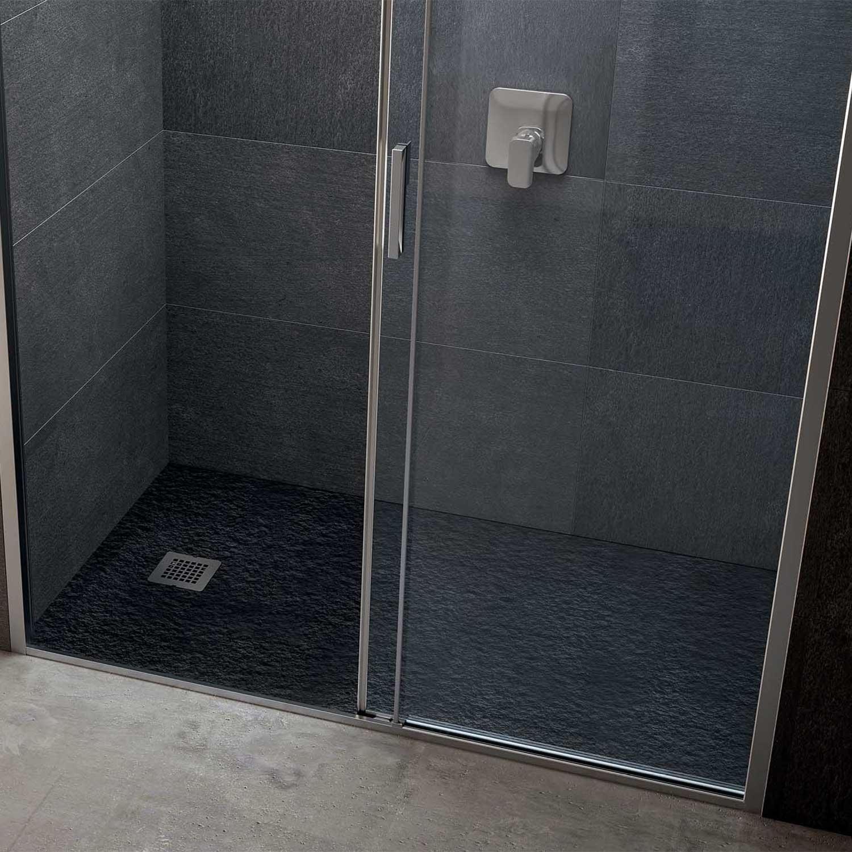 Piatto doccia rettangolare Effetto Pietra 100x120 Ideal Standard Ultra Flat S- Piletta NON inclusa