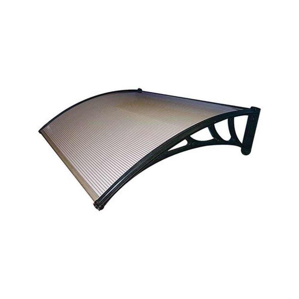 Pensilina da esterno cm100x120 trasparente 'Kasart'