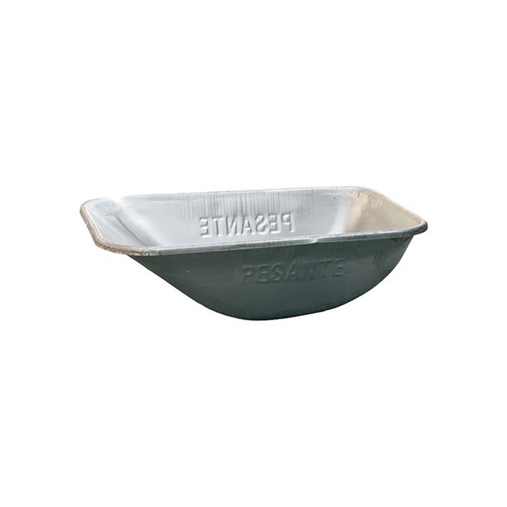 Vasca normale zincata per carriola