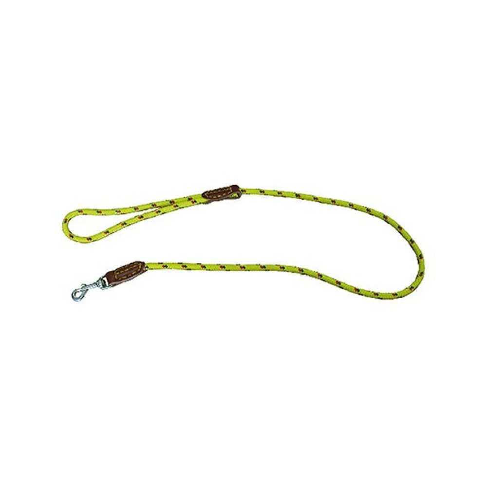 Guinzaglio per cane in nylon con  moschettone, mm 8 x cm 110