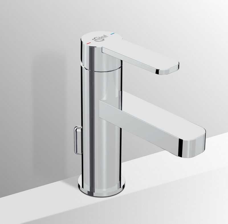 Miscelatore lavabo Ideal Standard Giò coni piletta di scarico