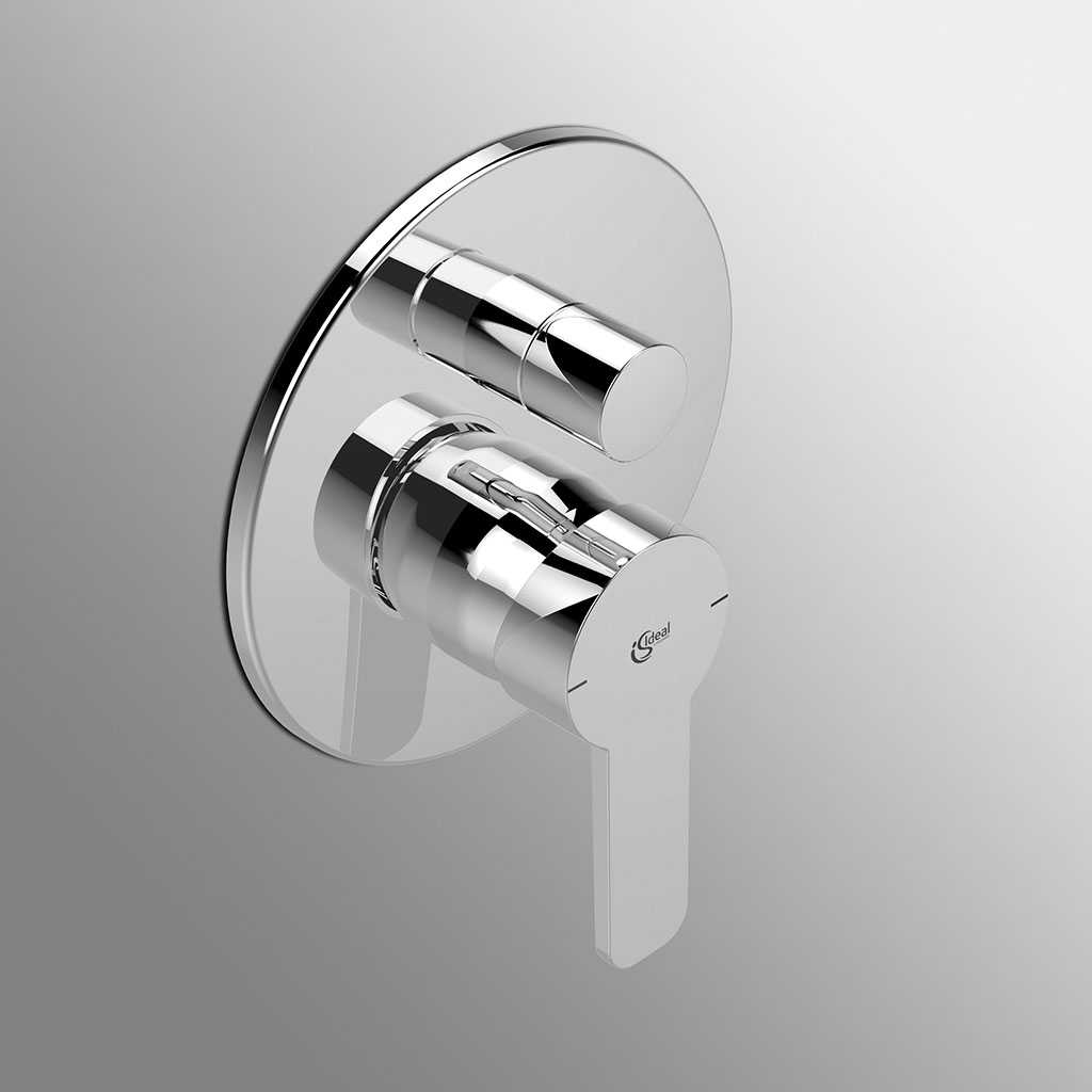 Miscelatore doccia ad incasso Ideal Standard Giò con deviatore