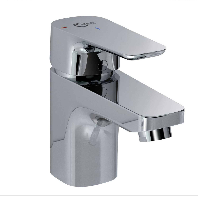 Miscelatore lavabo Ideal Standard Ceraplan 3 con piletta di scarico