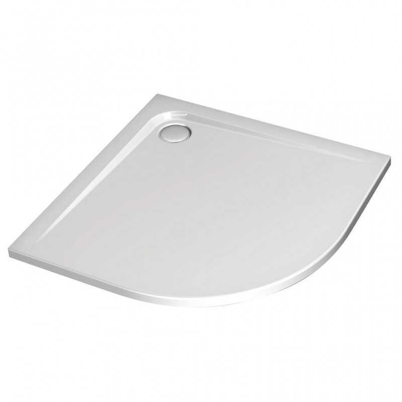 Piatto Doccia Ultra Flat 80x80 H4 con lato curvo Ideal Standard con trattamento Idea Grip