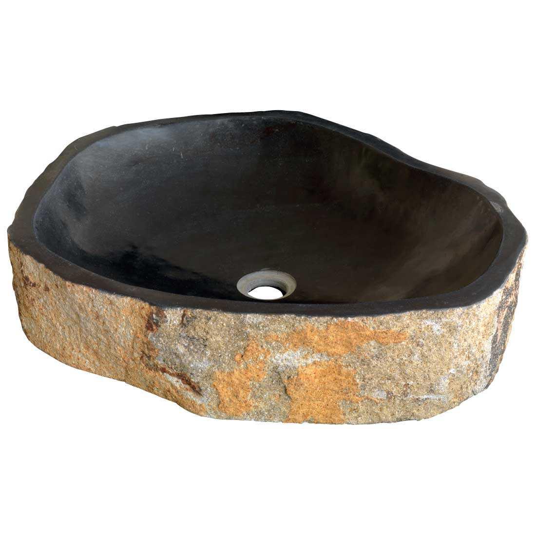 Lavabo da Appoggio in Pietra Pillar Stone