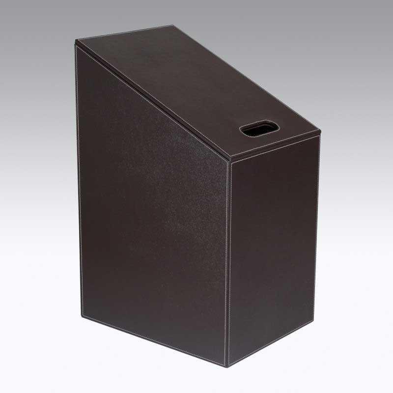 Cesto Porta biancheria KOH-I-NOOR modello Diagonal colore Marrone  Scuro