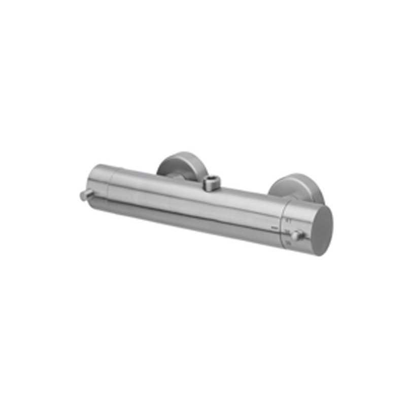 Miscelatore doccia rovesciato Paffoni Steel acciaio inox satinato