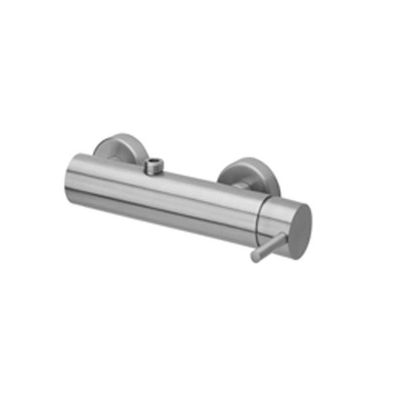 Miscelatore termostatico doccia rovesciato Paffoni Steel acciaio inox