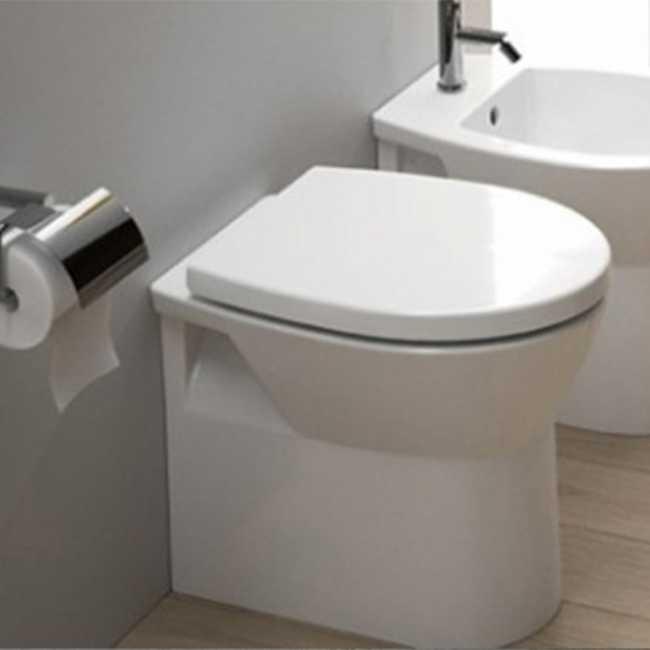 Wc filo muro per spazi piccolo Sanindusa Easy Compact