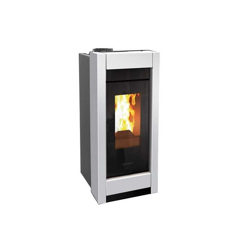 Stufa a pellet Thermorossi Aromy Idra Metalcolor 13,5 kW
