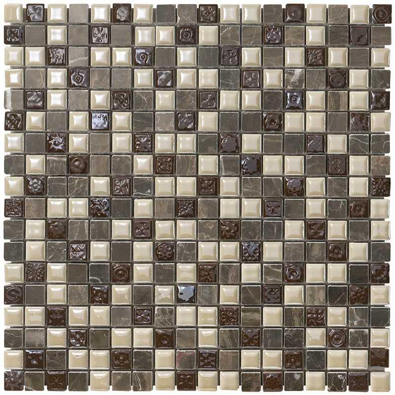 Mosaico da Bagno in fogli 30x30 Boxer Mexical Coffe