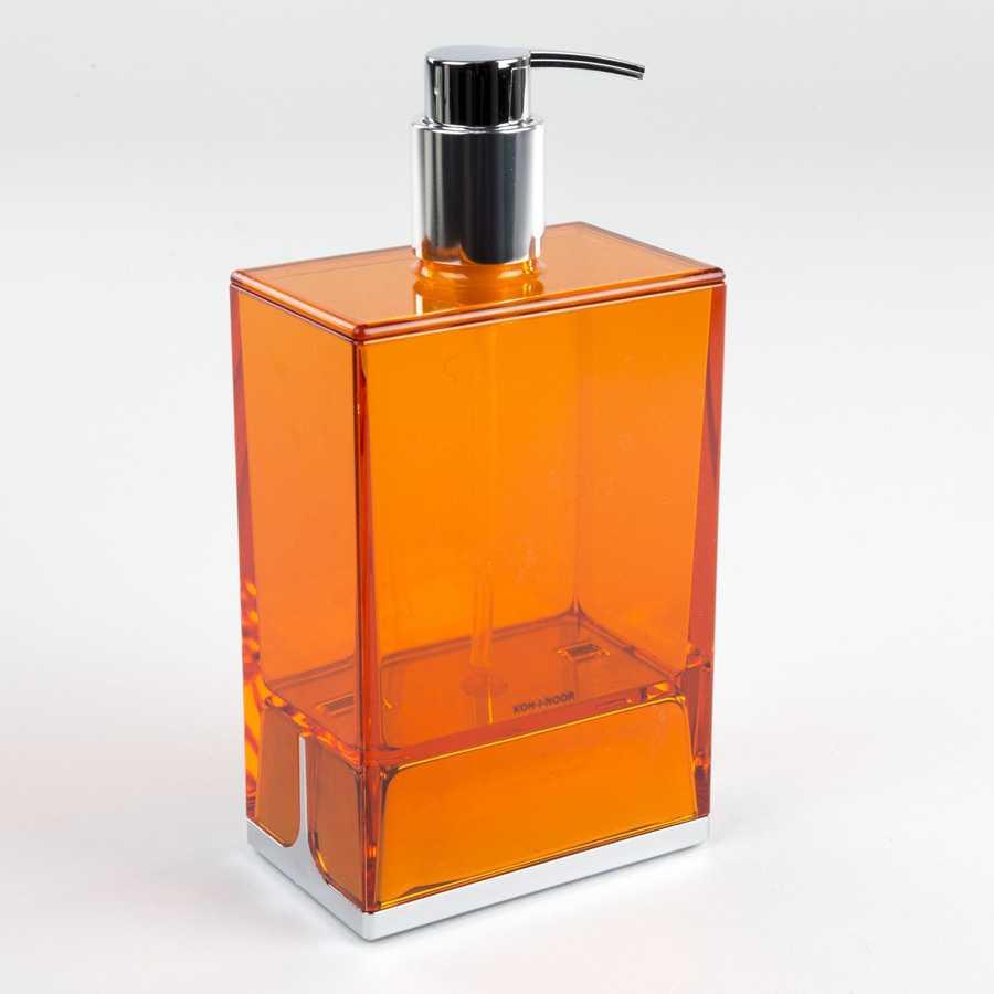 Dispenser da appoggio in policarbonato Koh-i-Noor LEM colore arancione