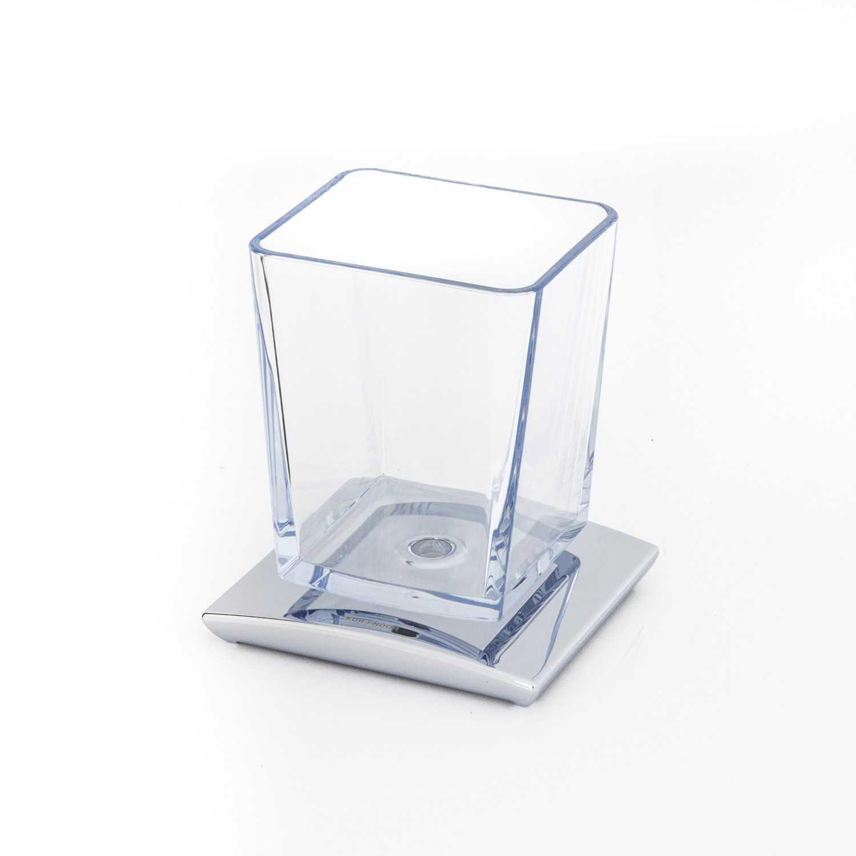 Portaspazzolini in  policarbonato modello Tilda Koh-i-Noor
