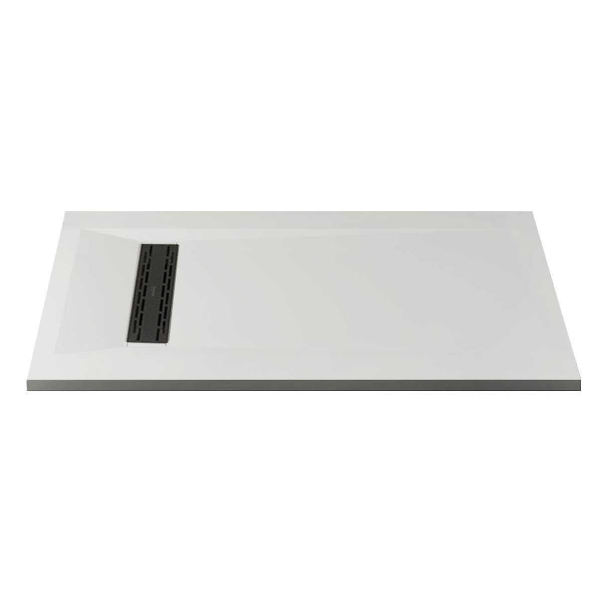Piatto Doccia Riverside filo pavimento 80x100 h 3 cm colorato opaco in luxolid