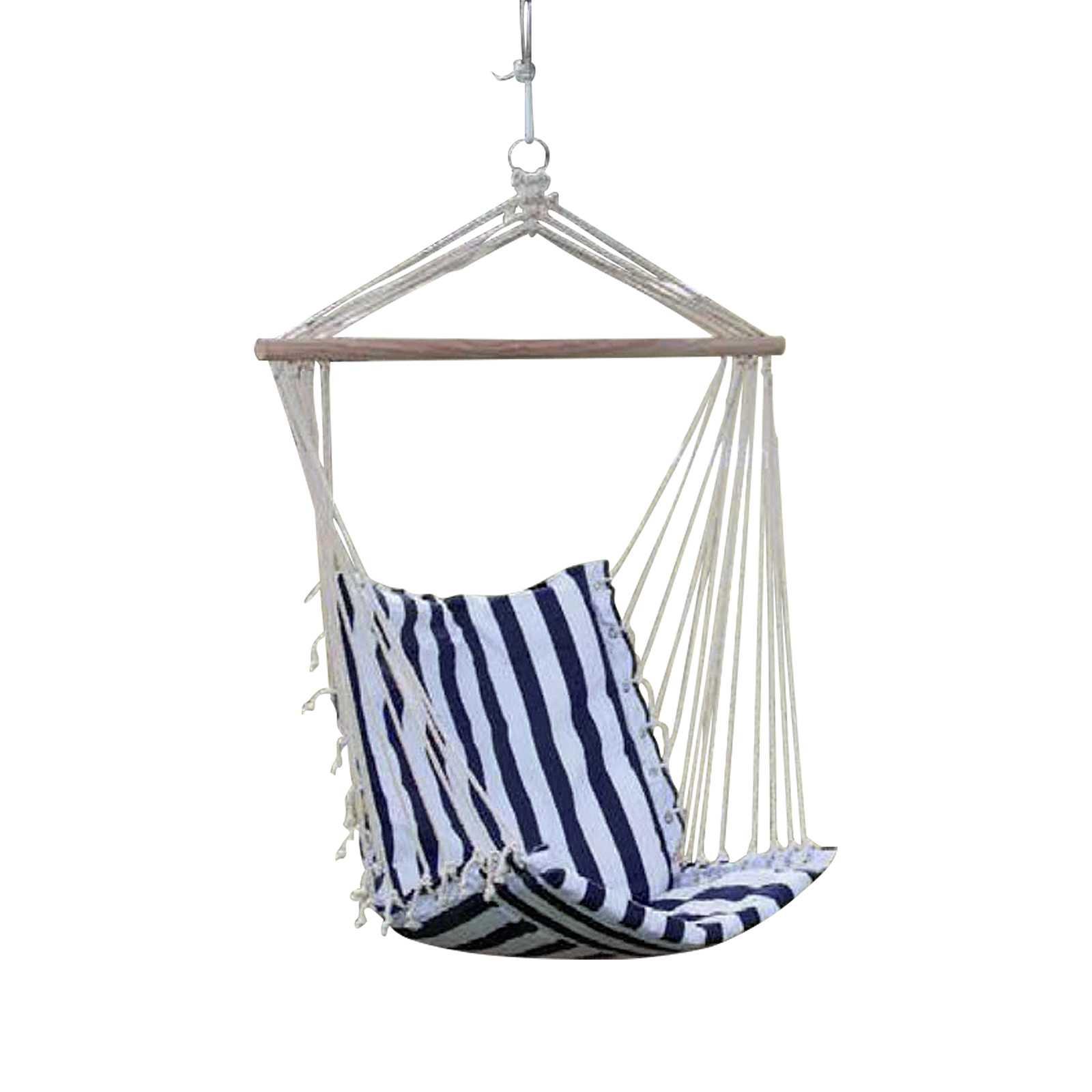 Seduta sospesa per outdoor con telo in tessuto portata massima 100 kg
