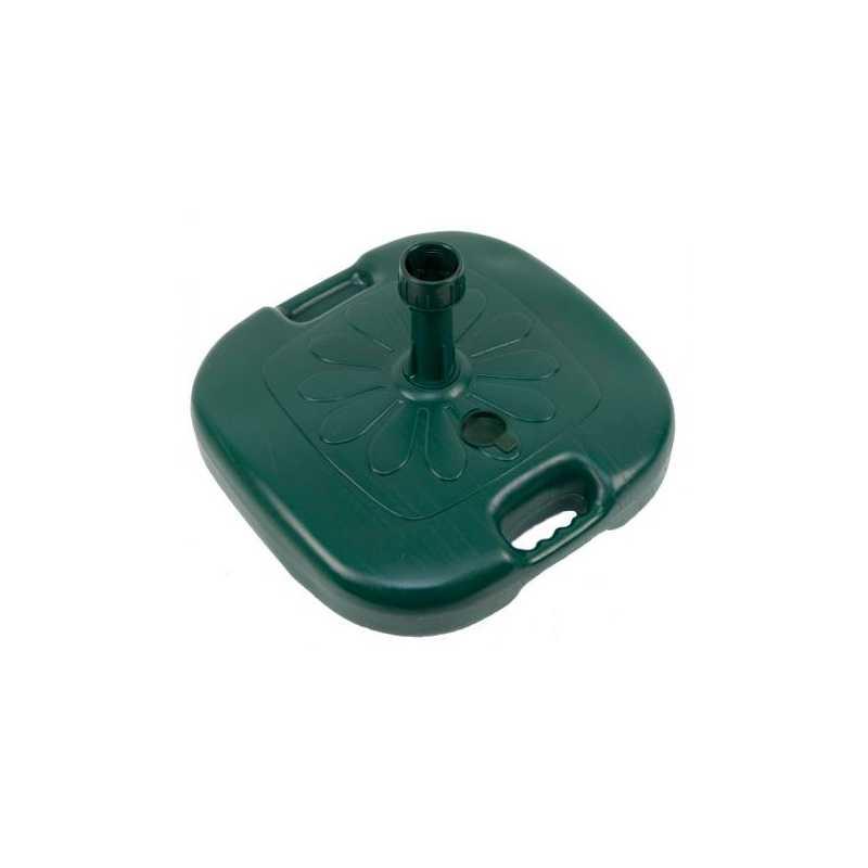 Comoda base ombrellone 45x45 cm in pvc a riempimento d'acqua
