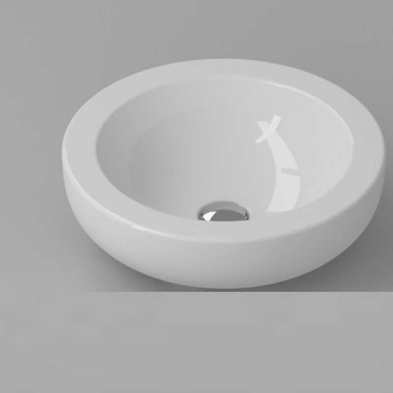 Lavabo da Appoggio modello VERA 45 Ceramica Azzurra Design Moderno
