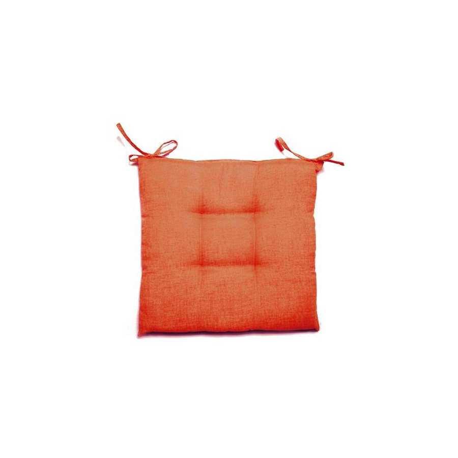 Cuscino ruggine per sedie 38X41 cm collezione Creta spessore 5 cm