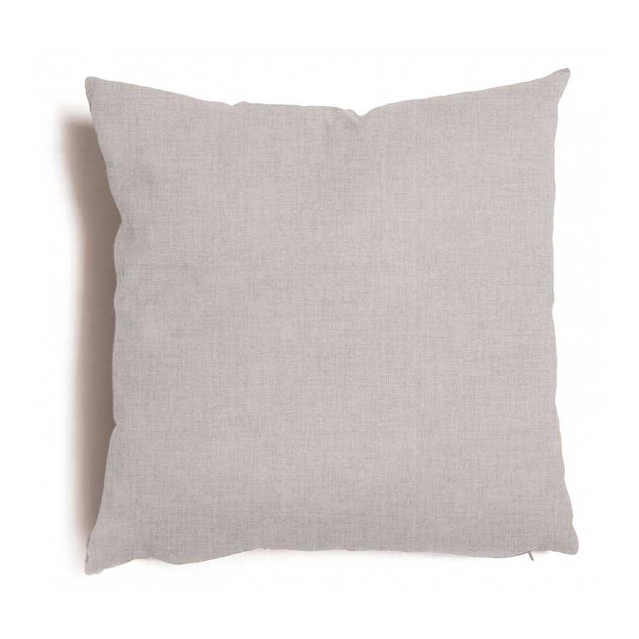 Cuscino decorativo grigio Tulipano sfoderabile 43x43 cm