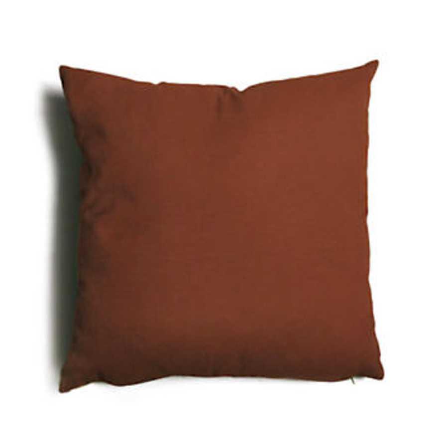 Cuscino decorativo marrone Tulipano sfoderabile 43x43 cm