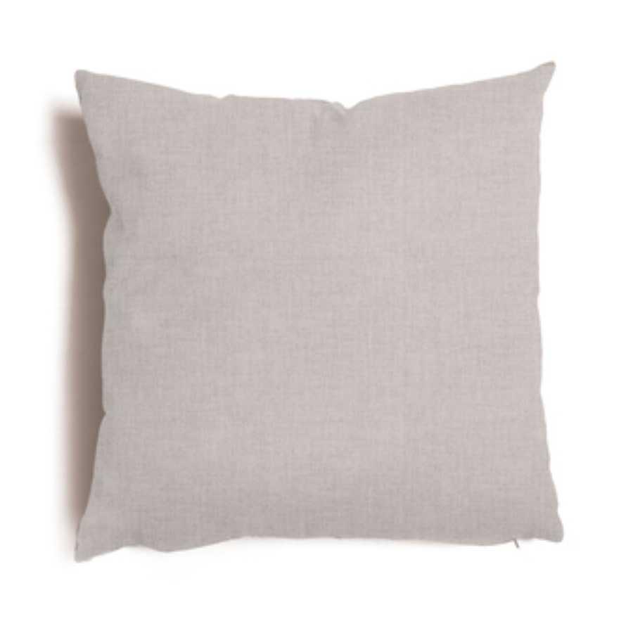 Cuscino decorativo grigio modello Tulipano 57x57 cm