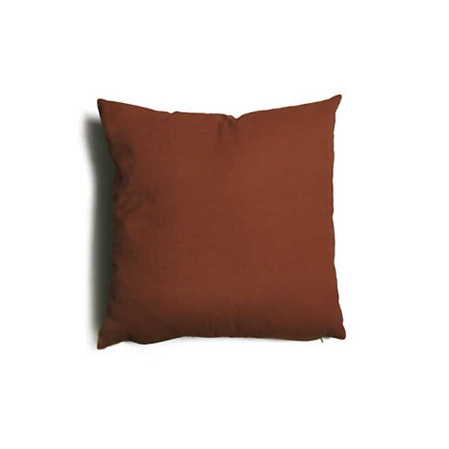 Cuscino decorativo marrone Tulipano sfoderabile 57x57 cm