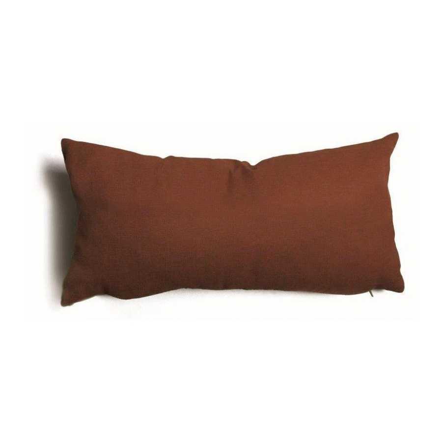 Cuscino decorativo marrone sfoderabile Tulipano 30x60 cm