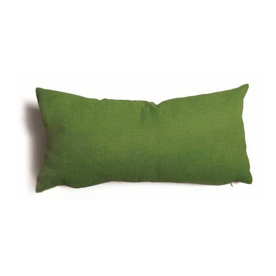 Cuscino decorativo verde Tulipano sfoderabile 30x60 cm
