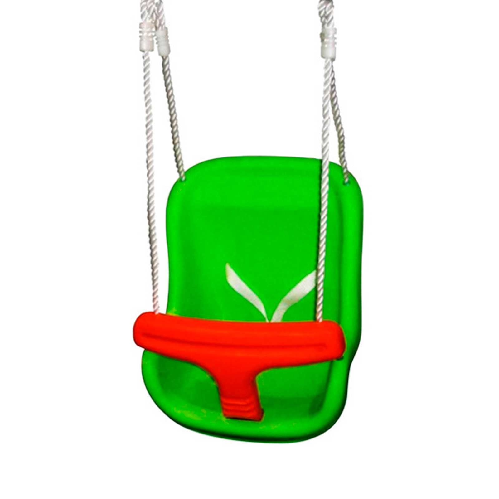 Comoda e pratica seduta per altalena 1,1 kg completa di funi