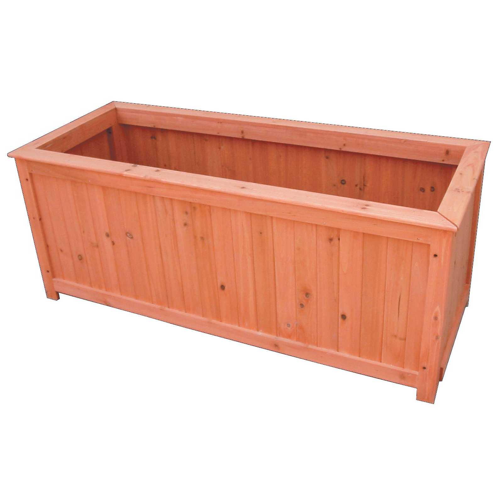 Cassetta in legno trattato cm 90x45x45h ideale per piante e fiori - vasi e fioriere