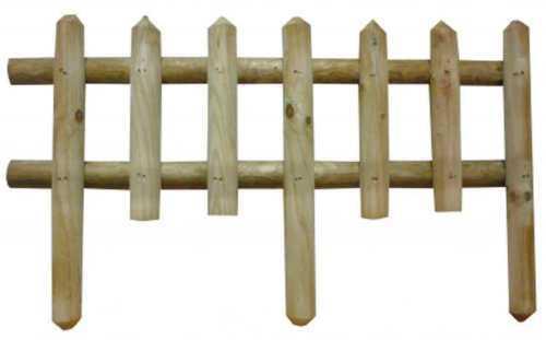 Steccato Ranch  in legno di pino impregnato cm 85x50h