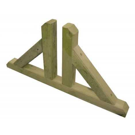 Piede con scanalatura regolabile per pannelli in legno con sistema modulare