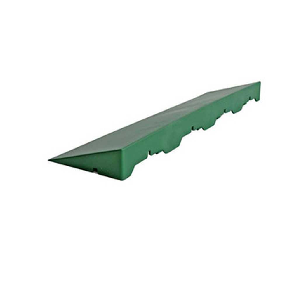 Pavimento in polipropilene con scivolo modello E40 VERDE