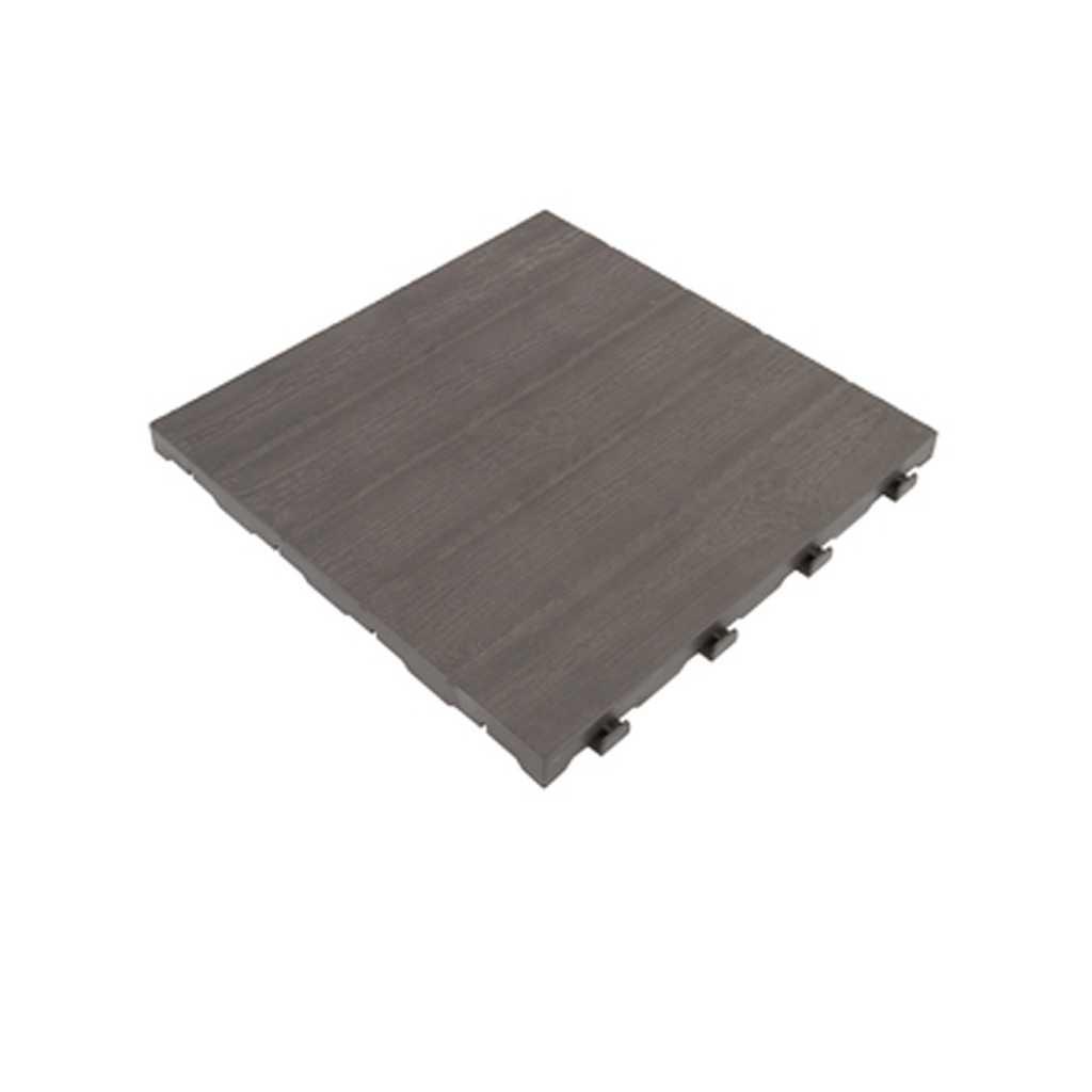 Pavimento in polipropilene E40 LM effetto legno piastrella cm 39x39x2,5